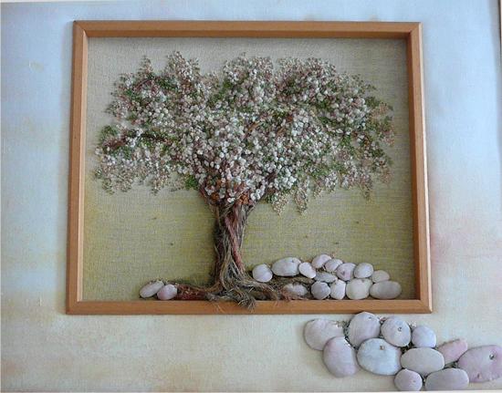 Дерево и плетение